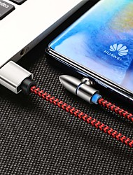 cheap -Mini USB Cable Magnetic / 1 to 3 Nylon USB Cable Adapter For Samsung / Huawei / iPhone