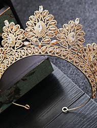 cheap -Alloy Tiaras with Crystal 1 Piece Wedding / Party / Evening Headpiece