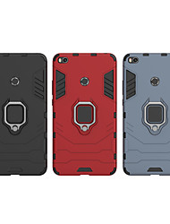 abordables -Coque Pour Xiaomi Xiaomi Mi Play / Xiaomi Mi Max 3 / Xiaomi Mi Max 2 Antichoc / Anneau de Maintien Coque Armure Dur PC / Xiaomi Mi 6