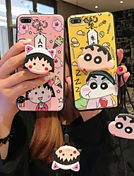 cheap -Case For Apple iPhone XS / iPhone XR / iPhone XS Max with Stand Back Cover Cartoon Soft Silicone
