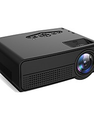 cheap -Factory OEM H60 DLP Home Theater Projector LED Projector 80 lm Support 1080P (1920x1080) 25-70 inch Screen