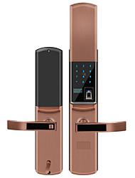 cheap -Factory OEM B8802 Antique Copper lock / Fingerprint Lock / Intelligent Lock Smart Home Security System Fingerprint unlocking / Password unlocking / APP unlocking Home / Office Security Door