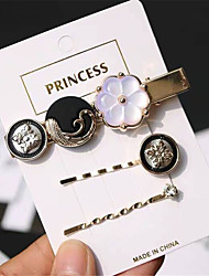 cheap -Women's Ladies For Gift Casual Resin Alloy Gold 3pcs