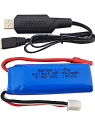 cheap -WLtoys wltoys K969 K979 K989 K999 P929 P939 7.4V 550mAh 1 set Battery / Cable / HDMI Cable Quick Charging