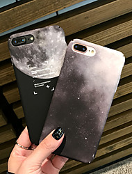 cheap -Case For Apple iPhone X / iPhone 8 Plus / iPhone 8 Pattern Back Cover Color Gradient Hard Plastic