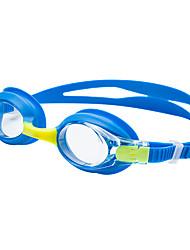 Недорогие -плавательные очки очки кейс Тренировки Нет утечки Удобный Для Детские силикагель Поликарбонат Другое синий