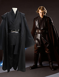 cheap -Inspired by Cosplay / Star Wars Cosplay / Anakin Skywalker / Sith Anime Cosplay Costumes Japanese Cosplay Suits Solid Colored Long Sleeve Top / Pants / Collar For Men's / Cloak