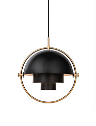 cheap -1-Light CONTRACTED LED® Globe / Mini / Novelty Pendant Light Downlight Electroplated Painted Finishes Metal Creative, Adjustable, New Design 110-120V / 220-240V