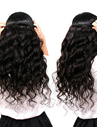 cheap -6 Bundles Malaysian Hair Loose Wave Remy Human Hair Natural Color Hair Weaves / Hair Bulk Bundle Hair One Pack Solution 8-28inch Natural Color Human Hair Weaves Newborn Waterfall Cute Human Hair