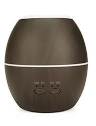 abordables -300ml domestique intelligent sec humidificateur d'air anti-brûlure créatif en bois machine d'aromathérapie humidificateur