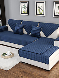 cheap -Sofa Cushion Solid Colored Quilted Cotton / Polyester / Cotton Blend Slipcovers