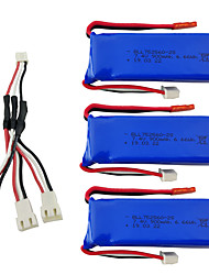 cheap -XK X520 XK X420 7.4V 900mAh 1 set Battery Quick Charging