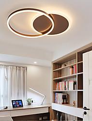cheap -40cm LED Ceiling Light Circle Ring Design Flush Mount Lights Aluminum Novelty Artistic Living Room Office Bedroom Dining Room 110-120V 220-240V