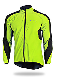 cheap -Nuckily Men's Cycling Jacket Bike Winter Fleece Jacket Top Bottoms Waterproof Thermal / Warm Windproof Sports Polyester Elastane Fleece Winter Red / Green / Blue Mountain Bike MTB Road Bike Cycling