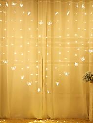cheap -2.5m Butterfly  String Lights 138 LEDs Warm White Bedroom Valentine Party Decorative 220-240 V 1 set