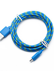 cheap -Micro USB Cable Braided / Quick Charge Special Material USB Cable Adapter For Macbook / iPad / Samsung