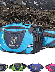 cheap -Daofeng 20 L Hiking Waist Bag Multifunctional Breathable Rain Waterproof Fast Dry Outdoor Hiking Cycling / Bike Running Polyester Sky Blue Green Royal Blue