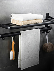 cheap -Bathroom Shelf New Design / Cool Modern Stainless Steel / Iron 1pc Double Wall Mounted