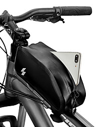 cheap -1 L Cell Phone Bag Bike Frame Bag Top Tube Touch Screen Waterproof Durable Bike Bag 420D Nylon Bicycle Bag Cycle Bag Samsung Galaxy S6 / Samsung Galaxy S6 edge / LG G3 Road Bike Mountain Bike MTB