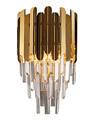 cheap -Crystal Modern Contemporary Wall Lamps & Sconces Living Room Bedroom Crystal Wall Light IP68 110-120V 220-240V 40 W / E12 / E14