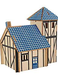 abordables -Puzzles en bois Jeux de Logique & Casse-tête Maison Fait à la main Interaction parent-enfant En bois 1 pcs Enfant Adulte Jouet Cadeau