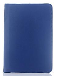 Недорогие -Кейс для Назначение SSamsung Galaxy Tab S4 10.5 (2018) / Tab S3 9.7 / Tab S2 9.7 Поворот на 360° / Защита от удара / со стендом Чехол Однотонный Твердый Кожа PU