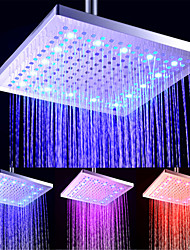 cheap -Contemporary Rain Shower Electroplated Feature - LED / New Design / Shower, Shower Head