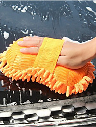 cheap -1pcs Car Wash Cotton Chenille Car Sponge - Random Color