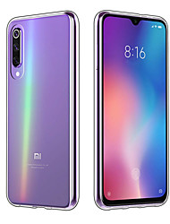 cheap -Case For Xiaomi Xiaomi Mi Play / Xiaomi Mi 8 / Xiaomi Mi 8 SE Transparent Full Body Cases Solid Colored Soft TPU
