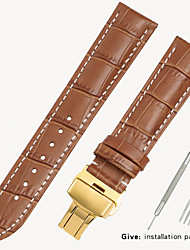 cheap -Substitute Tissot 1853 Men's Leather Watch with Locke Women's Leather King Casio Longines Bracelet Accessories 16/18/19/20/21mm