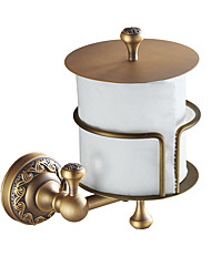 cheap -Toilet Paper Holder New Design Antique Brass 1pc - Bathroom Wall Mounted