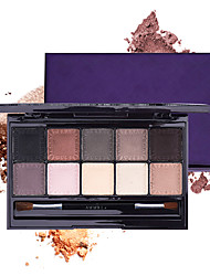 cheap -10 Colors Eyeshadow Eyeshadow Palette Eye Cosmetic EyeShadow Waterproof Matte Eco-friendly Fashionable Design All-In-1 Shimmer Glitter Shine lasting Coloured gloss Long Lasting Brightening Daily