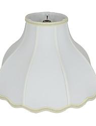 abordables -Rustique / Traditionnel / Classique Protection des Yeux / Lampes ambiantes / Cool Abat-jour Pour Chambre d'enfants / Magasins / Cafés Tissu Blanche / Jaune