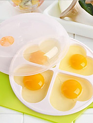 Недорогие -ПП (полипропилен) DIY прессформы Инструмент выпечки Своими руками Кухонная утварь Инструменты Для Egg 1шт