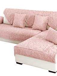 cheap -Sofa Cushion Solid Colored / Contemporary Embroidery / Embossed / Quilted Cotton / Polyester / Cotton Blend Slipcovers