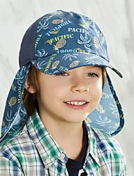 Недорогие -Шляпа для туризма и прогулок Рыбалка Шляпа Бейсболка Кепка 1 ед. С защитой от ветра Защита от солнечных лучей Устойчивость к УФ Дышащий Рисунок Чинлон Весна для Мальчики Девочки