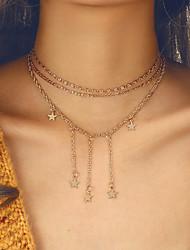 Недорогие -старинные многослойные цепи колье колье для женщин ретро бохо золотого цвета кисточкой ожерелье новый подарок ювелирных изделий