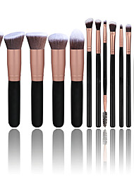 cheap -14pcs Makeup Brush Set Premium Synthetic Foundation Powder Brushes Concealers Eye Shadows Make Up Brushes Kit