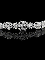 cheap -Crystal / Rhinestone / Pearl / Alloy Headbands / Headdress / Headpiece with Pearl / Pearls / Glitter 1 Piece Wedding / Party / Evening Headpiece