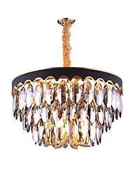 cheap -QIHengZhaoMing 6-Light 60 cm Chandelier Crystal Painted Finishes Traditional / Classic 110-120V / 220-240V