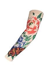 abordables -2 pcs Tatouages temporaires Sécurité / Créatif / Léger et pratique mains / brachium Spandex Tatouages à manches