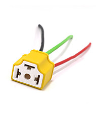 cheap -H4 Wire Relay Holder Loom Head Light Bulb Harness Socket Plug For Motorcycle Dirt Bike Car