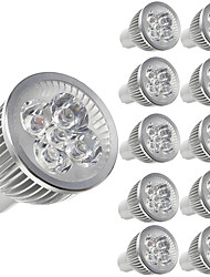 cheap -10pcs 5 W LED Spotlight 450 lm E14 GU10 GU5.3 5 LED Beads High Power LED Decorative Warm White Cold White 85-265 V / 10 pcs / RoHS