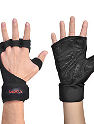 cheap -Protective Gear / Hand & Wrist Brace / Exercise Gloves for Exercise & Fitness / Fitness Sticky / Breathable Silicon / Poly / Cotton Blend One Pair × 2 Black / Green / Pink
