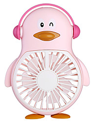 cheap -Cartoon Ub Charged Penguin Fan Mini Hand-Held Fan Student Outdoor Portable Pocket Small Fan