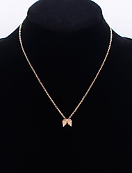cheap -Women's Necklace Charm Necklace Chrome Gold Silver 46 cm Necklace Jewelry 1pc For Daily Holiday School Street Festival