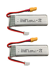 cheap -XK K130 7.4V 600mAh 2pcs Battery Rechargeable Battery