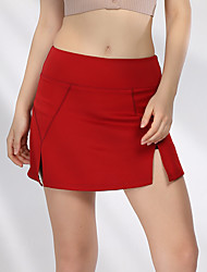 cheap -Women's Short Skirt Tennis Golf Running Athleisure Outdoor Autumn / Fall Spring Summer / Stretchy / Quick Dry / Breathable