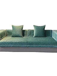 cheap -Sofa Cushion Solid Colored / Classic Embossed / Quilted Polyester / Cotton Blend Slipcovers