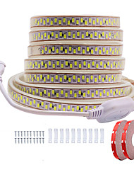 cheap -KWB 10M LED Light Strips Waterproof Tiktok Lights Shine Decor 220V Flexible Rope Lights 5730 12mm 1800LEDs for Indoor Outdoor Ambient Commercial Lighting Decoration